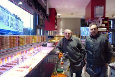 La nouvelle friterie Antoine à Etterbeek