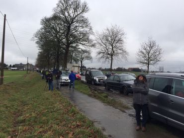 Namur: suivez en direct la démolition de la tour Proximus à Vedrin