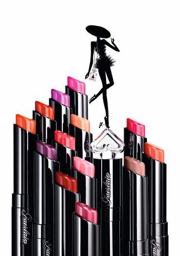 La Petite Robe Noire de Guerlain s'offre une ligne de rouge à lèvres parfumés.