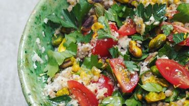 "Salad Bar : "" Taboulé de sarrasin et chou-fleur """