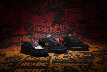 AC/DC sort une ligne de vêtements et chaussures