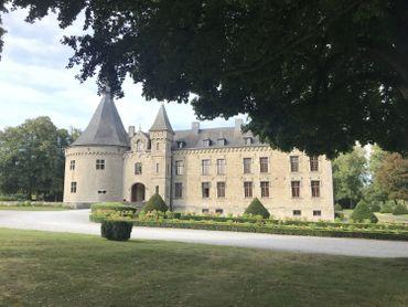 Le château de Boussu-en-Fagne