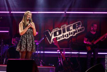 Alice dans The Voice Belgique
