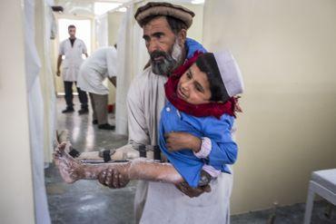 En Afghanistan, le CICR continue a lutter afin d'éradiquer définitivement la polio.