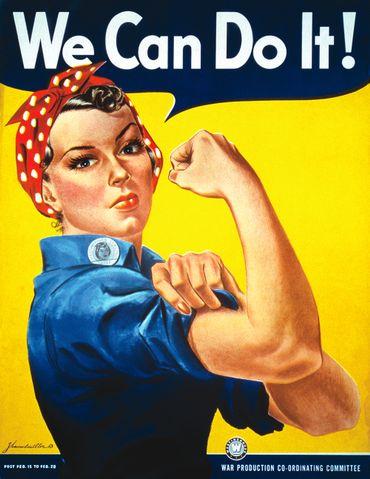 """""""Rosie the Riveter"""": la femme qui a inspiré l'icône féministe décède à l'âge de 96 ans"""