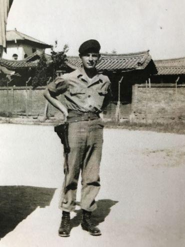 Jacques Libert à Séoul.
