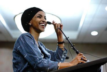 Ilhan Oman est une réfugiée somalienne