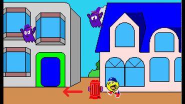 A partir de 1984, Pac Man sort de son labyrinthe