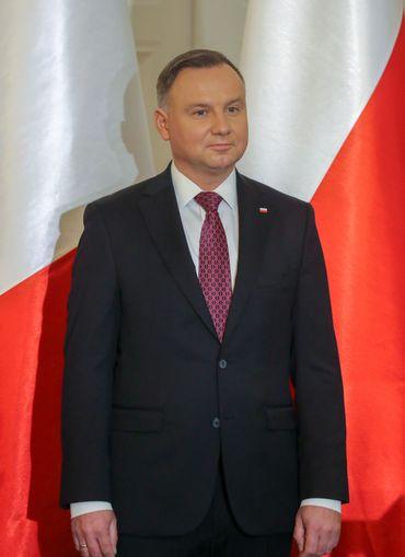 le président polonais Duda le 03 février 2020