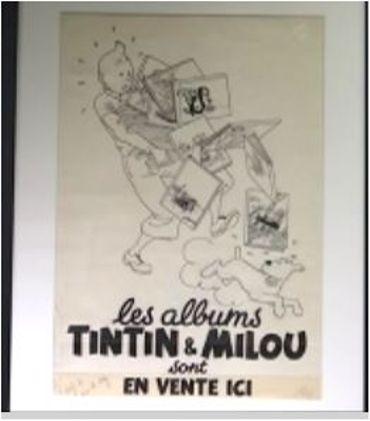 L'affiche publicitaire d'Hergé, un dessin emblématique