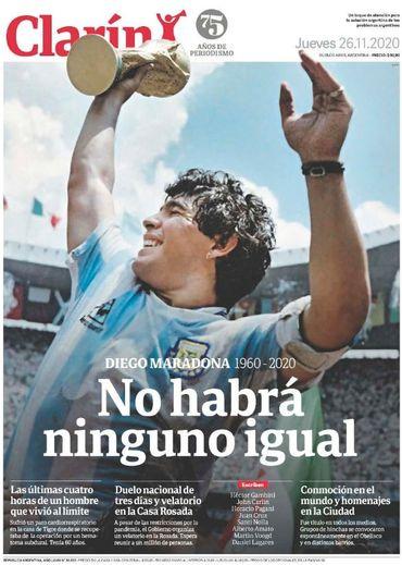 L'hommage des journaux à Diego Armando Maradona : revue de presse des plus belles unes