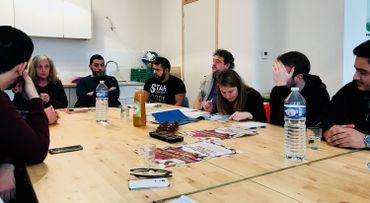 Première réunion du comité de quartier Renaissance Lemmens recomposé.