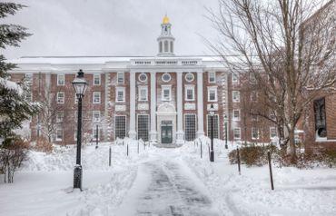Harvard en hiver