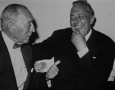 Buster Keaton et Jacques Tati