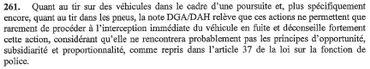 Extrait du rapport du Comité P.
