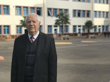 Simon Cohen, directeur du Lycée Maïmonide à Casablanca
