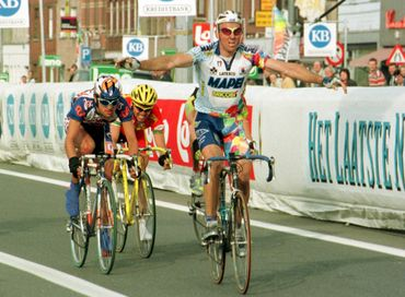 Johan Museeuw remporte l'E3 en 1998