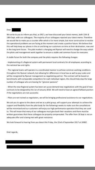 Bras de fer à Ryanair: les pilotes refusent le bonus de la direction en échange de leurs congés