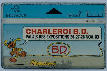 Une carte téléphonique pour chaque événement