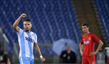 Ciro Immobile envoie la Lazio en 1/8ème