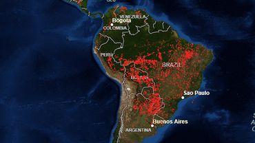 Il y a plus d'incendies en ce moment en Afrique subsaharienne qu'en Amazonie (et personne n'en parle)