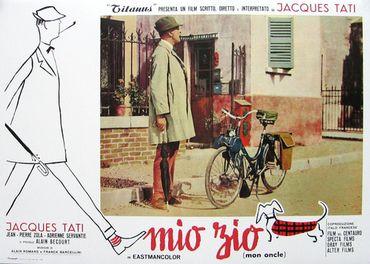 'Mon Oncle' de Jacques Tati, version italienne