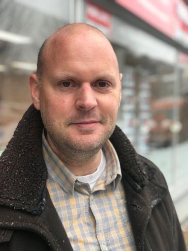 Julien Droussart, urgentiste social
