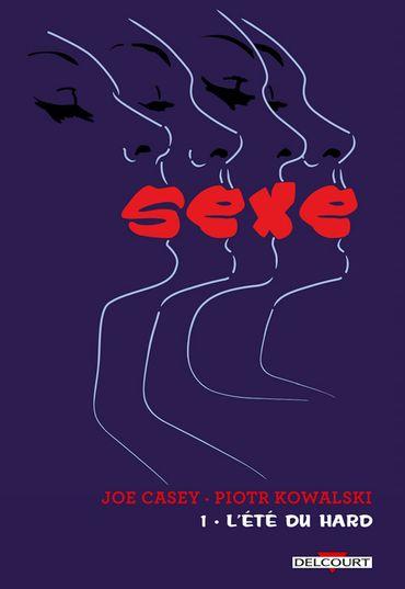 """""""Sexe, tome 1 : l'été du hard"""", Piotr Kowalski et Joe Casey, éditions Delcourt, 17,95 euros"""