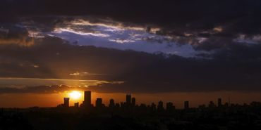 Johannesburg Skyline - Stock Image