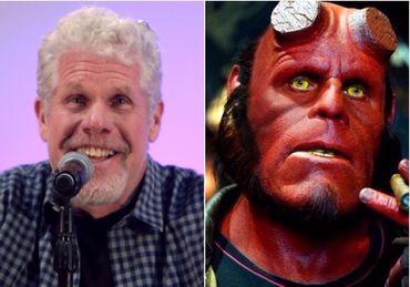 Il fallait bien quelqu'un de costaud pour incarner Hellboy