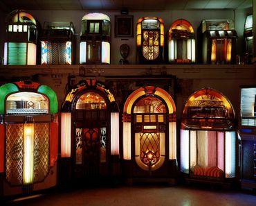 Le Juke Box Museum au Texas