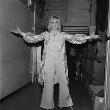 Dusty Springfield dans le début des 70s