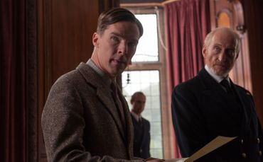 "Benedict Cumberbatch dans ""The Imitation Game"""