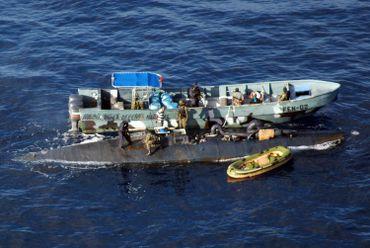 Interpellation d'un narco sous-marin colombien en 2010
