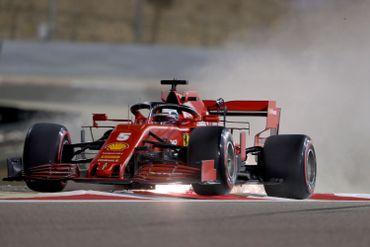 La Ferrari de Sebastian Vettel