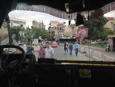 Bab touma une des porte de la vieille ville de Damas