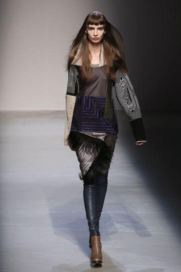 Le patchwork façon Masha Ma - Collection prêt-à-porter automne-hiver 2015-2016