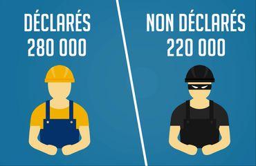 Les détachés illégaux pris en compte, le calcul de Nicolas Dupont-Aignan n'est peut-être pas si éloigné de la réalité d'aujourd'hui.