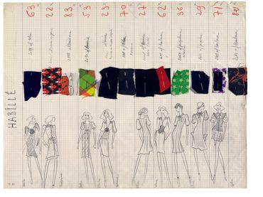 Planche de collection