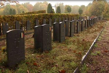 Carré d'honneur où sont inhumés les anciens combattants
