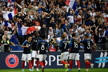 La joie des Français