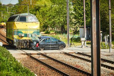 La locomotive a été lancée à 75 km/h