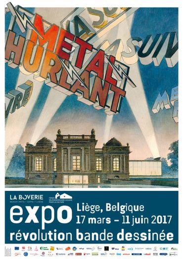 Concours: Vos entrées pour l'exposition Métal Hurlant