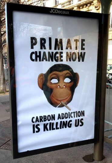 Carbon addiction is killing us