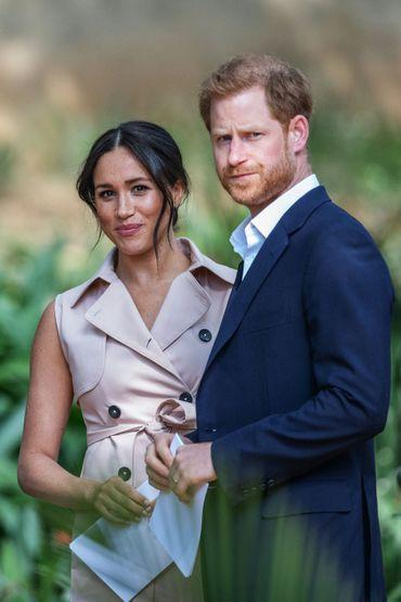 Meghan Markle et le prince Harry, le 2 octobre