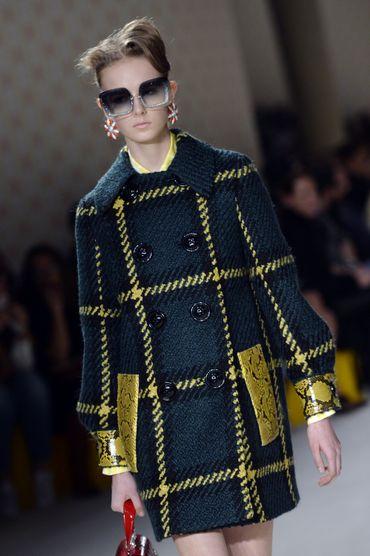La patchwork très subtil de Miu Miu - Collection prêt-à-porter automne-hiver 2015-2016