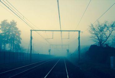la ligne Mons-Bruxelles
