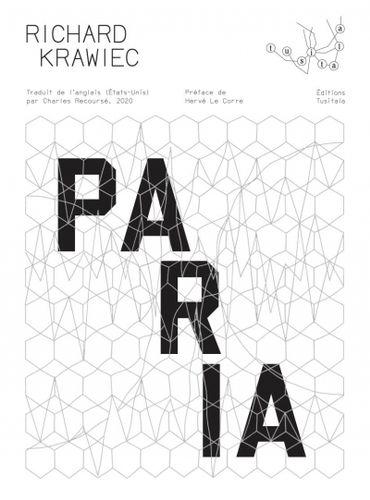 """Couverture du livre """"Paria"""" de Richard Krawiec (Tusitala)"""