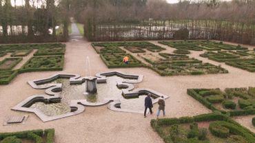 On admirait déjà les jardins d'Enghien sous louis XIV