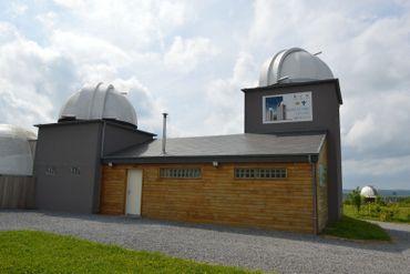 L'observatoire Centre Ardenne qui abrite un télescope  parmi les plus puissants de Belgique !